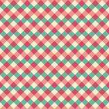 Seamless Vintage Christmas Gingham Pattern. Seamless Vintage Christmas Gingham Check Pattern in Vector Format vector illustration