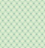 Seamless vintage christmas pattern with snowflakes Stock Images