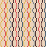 Seamless Vintage Colors Pattern Stock Photo