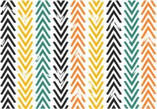 Seamless vintage colour tone Chevron zig zag pattern illustration vector stock photos