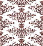Seamless vintage damask background Royalty Free Stock Photos