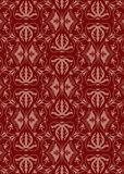 Vintage damask pattern Stock Photography