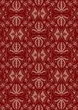 Vintage damask pattern. Seamless vintage damask pattern, illustration Stock Photography