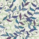Seamless vintage elegant floral background Stock Images