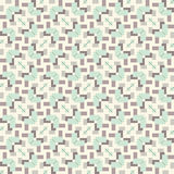 Seamless vintage fabric pattern Stock Photography