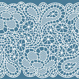 Seamless vintage fashion lace pattern with Royalty Free Stock Photos