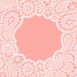 Seamless vintage fashion lace pattern with Royalty Free Stock Photography