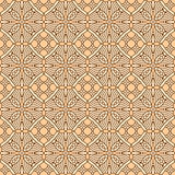 Seamless vintage flat colors pattern. Seamless (repeatable, 16 tiles here) vintage multicultural decorative flat colors pattern, print, swatch, wallpaper, or Stock Photo