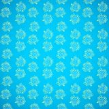Seamless vintage floral abstract background. Seamless blue vintage floral abstract background for your web design stock illustration