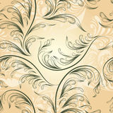 seamless vintage  floral background, Stock Photo