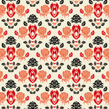 Seamless vintage floral background Royalty Free Stock Photography