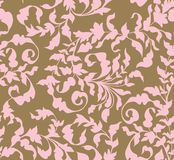 Seamless vintage floral background Stock Photo