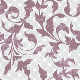 Seamless vintage floral background Stock Photography