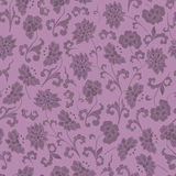 Seamless Vintage Floral Background Stock Images
