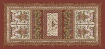 Seamless vintage floral digital design background vector illustration