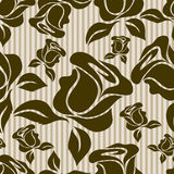 Seamless vintage floral pattern Stock Image
