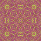 Seamless vintage floral pattern background Royalty Free Stock Photos