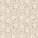 Seamless vintage floral pattern. Royalty Free Stock Photo