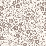 Seamless vintage floral pattern. Stock Photo