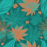 Seamless vintage floral pattern Royalty Free Stock Images