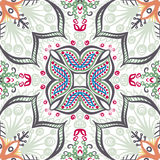 Seamless vintage floral pattern. Vector seamless vintage floral pattern background Royalty Free Stock Image