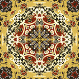 Seamless vintage floral pattern. Vector seamless floral pattern background Royalty Free Stock Photos