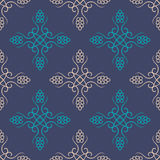Seamless with vintage floral pattern Royalty Free Stock Photos