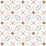 Seamless vintage floral wallpaper Royalty Free Stock Photography