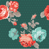Vintage Flower Background Stock Images