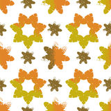 Seamless  vintage  flower pattern Stock Photo