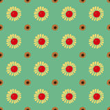 Seamless Vintage flower pattern. Royalty Free Stock Images