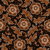 Seamless vintage flower pattern Stock Photo
