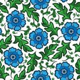 Seamless vintage flower pattern Royalty Free Stock Photo