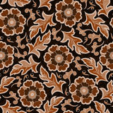 Seamless vintage flower pattern Royalty Free Stock Images