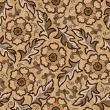 Seamless vintage flower pattern. Wallpaper seamless vintage flower pattern Royalty Free Stock Image