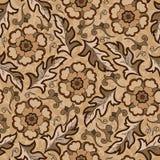 Seamless vintage flower pattern Royalty Free Stock Image