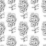 Seamless vintage flower Royalty Free Stock Images