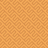 Seamless vintage geometric pattern. Ethnic vector diagonal backg Royalty Free Stock Image