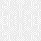 Seamless vintage gray pattern. Ethnic vector textured background Stock Images