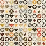 Seamless vintage grunge pattern Royalty Free Stock Image