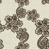Seamless lace pattern Royalty Free Stock Images