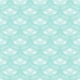 Seamless vintage lace pattern. Delicate tender pattern.  Royalty Free Stock Photos