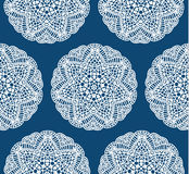 Seamless vintage lace pattern. Delicate tender pattern.  Royalty Free Stock Images