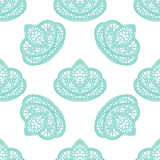 Seamless vintage lace pattern. Delicate tender pattern.  Stock Image