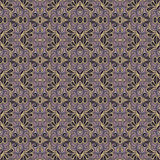 Seamless Vintage Lace Pattern (Vector). Hand Drawn Ethnic Texture Stock Photography
