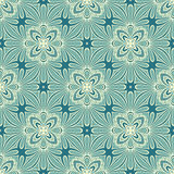 Seamless Vintage Lace Pattern (Vector). Hand Drawn Ethnic Texture Royalty Free Stock Image