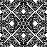 Seamless Vintage Lace Pattern (Vector) Stock Photos