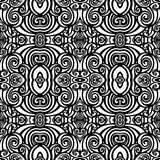 Seamless Vintage Lace Pattern (Vector) Royalty Free Stock Images