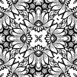 Seamless Vintage Lace Pattern (Vector) vector illustration