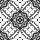 Seamless Vintage Lace Pattern (Vector) Royalty Free Stock Photos